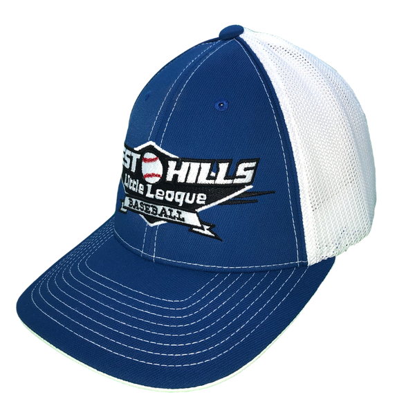 Hat - West Hills Little League (Blue/White Mesh)
