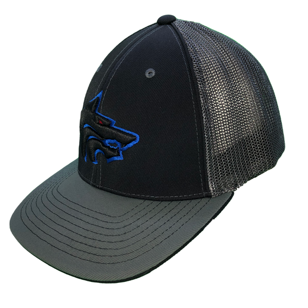 Hat - West Hills (Black/Silver hat)