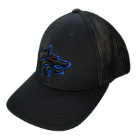 Hat - West Hills (Black/Black Mesh)