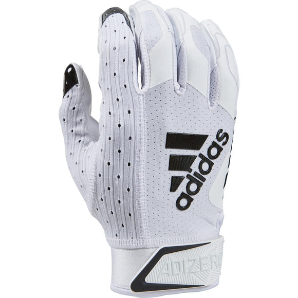 Adidas - Adizero 9.0 White/Black Football Receiver Gloves