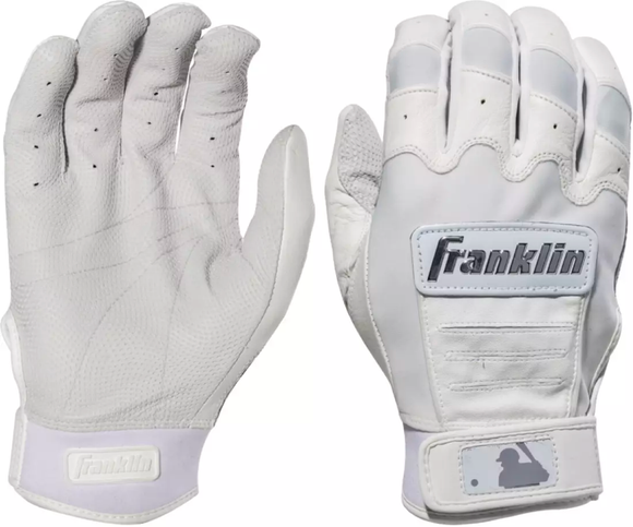 Franklin CFX Pro Chrome Series White - Batting Gloves
