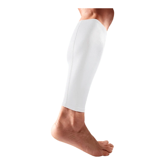 McDavid - 6577 Pair of White Compression Calf Sleeves