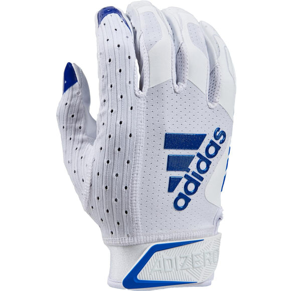 Adidas - Adizero 9.0 White/Royal Football Gloves