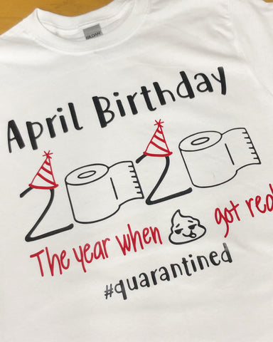 April, May, June  Birthday Shirt