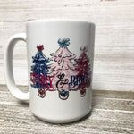 Merry and Bright Custom Mug
