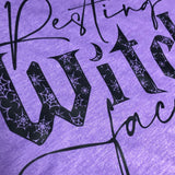 Resting Witch Face-T-Shirts/Hoodies/Crew