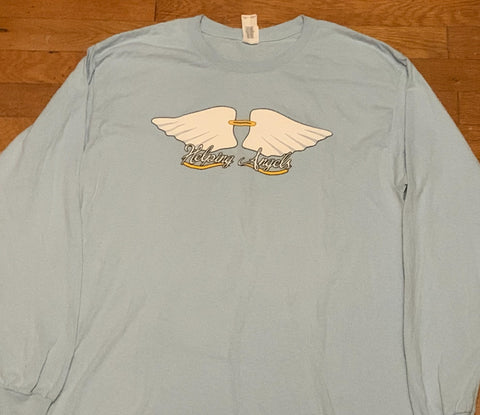 HELPING ANGELS - LONG SLEEVE/HOODIE-LARGE LOGO