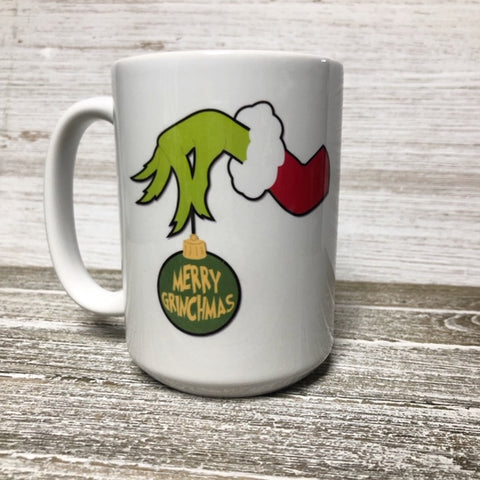 Merry Grinchmas Christmas Mug