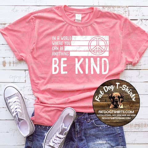Be Kind Flag-T-Shirt/Hoodies/Long Sleeve