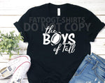 Boys of Fall-T-Shirts or Hoodies