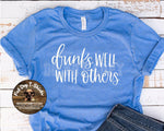 Drinks Well With Others-T-Shirts/Long Sleeve T-Shirts/V-Necks