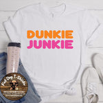 Dunkie Junkie-T-Shirts/Hoodies/Long Sleeve T-Shirts