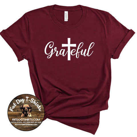 Grateful -T-Shirt/Hoodie/Crew Sweatshirts