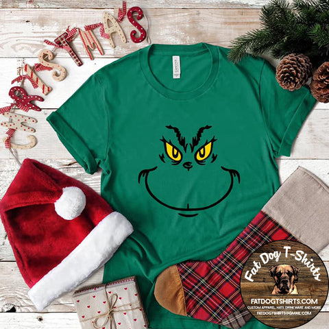 Grinch Smile-T-Shirt/Hoodie