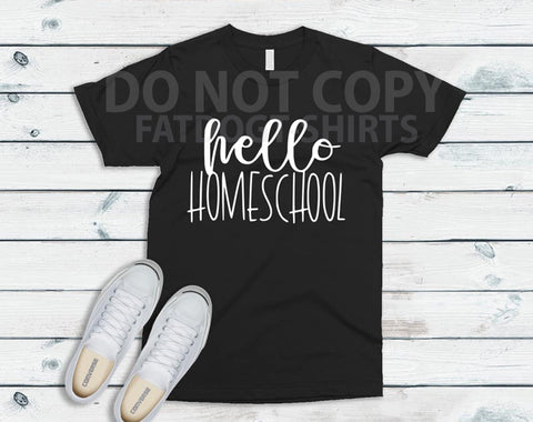 Hello Home-school-T-Shirt or Hoodie