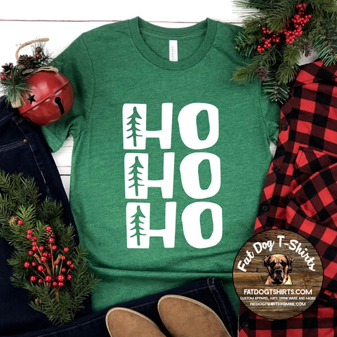 HO HO HO-T-SHIRTS/CREW FLEECE