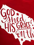 God Shed his Grace on Thee T-Shirt-America