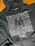 Thanksgiving Hoodie-Charcoal Heather