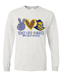 NDA LONG SLEEVE-PEACE LOVE KNIGHTS