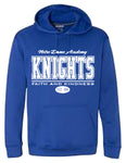 NDA- HOODIE-ROYAL/FAITH AND KINDNESS