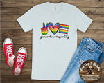 Peace, Love, Equality/T-Shirt-Hoodie
