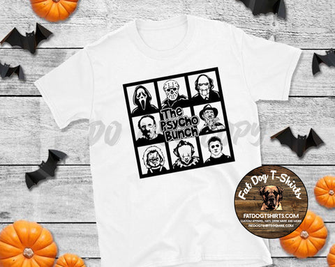 The Psycho Bunch-T-Shirt/Long Sleeve/Hoodie