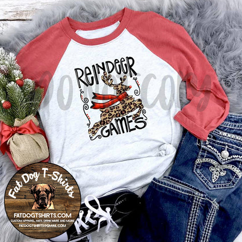 Reindeer Games-Jersey/Long Sleeve T-Shirt