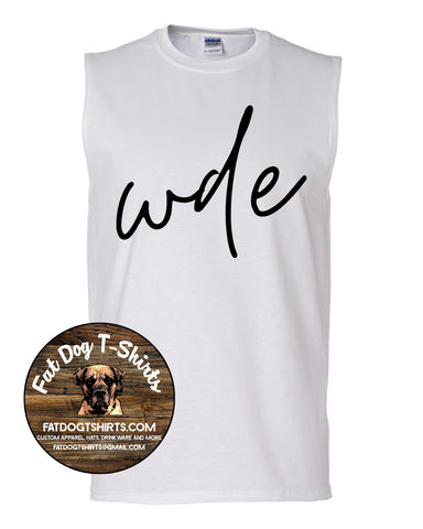 WDE-MUSCLE T-SHIRT