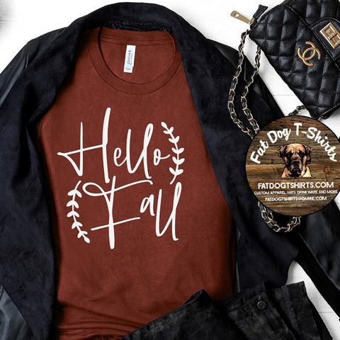 Hello Fall-T-Shirt