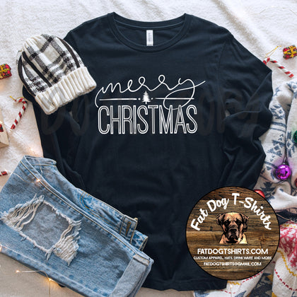 MERRY CHRISTMAS -Long Sleeve T-Shirt/Crew Sweatshirt/Hoodie