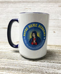 NDA MUG-11oz White and Navy