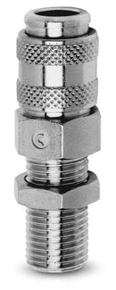 5052 / 5082 BSP Male Quick Release Coupling Builkead
