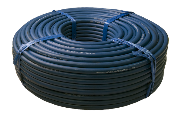 Blue Oxygen Gas Hose