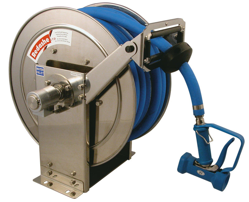CCRHA-1330SS Stainless Steel Spring Rewind Hose Reel