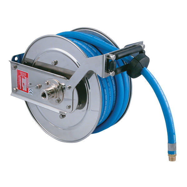 CTWA-1315SS Compact Stainless Steel Spring Rewind Hose Reel