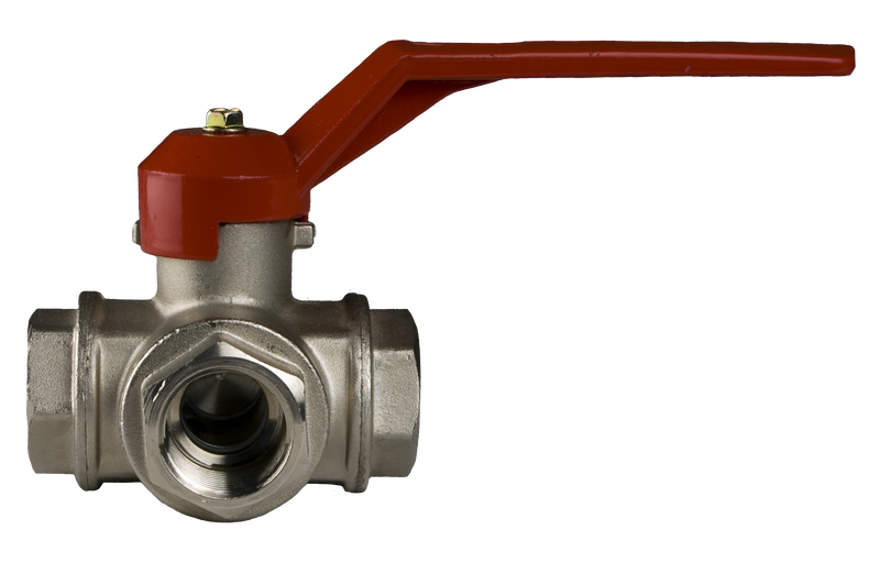 L-Port 3 Way Ball Valve