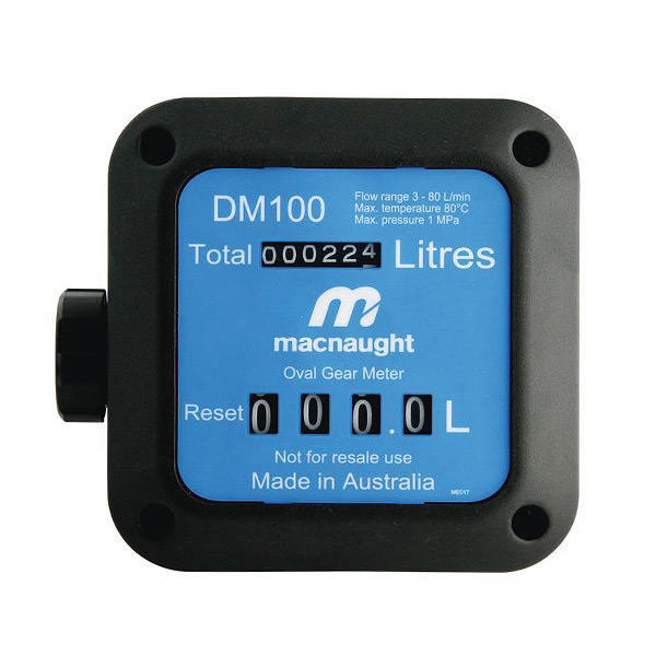 DM100 Macnaught Mechanical Fuel Meter