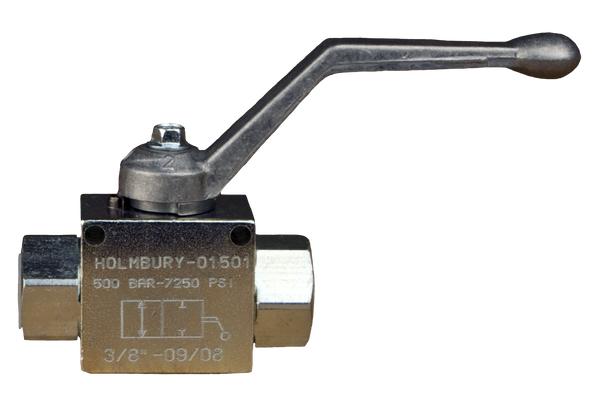 2 Port High Pressure Ball Valve