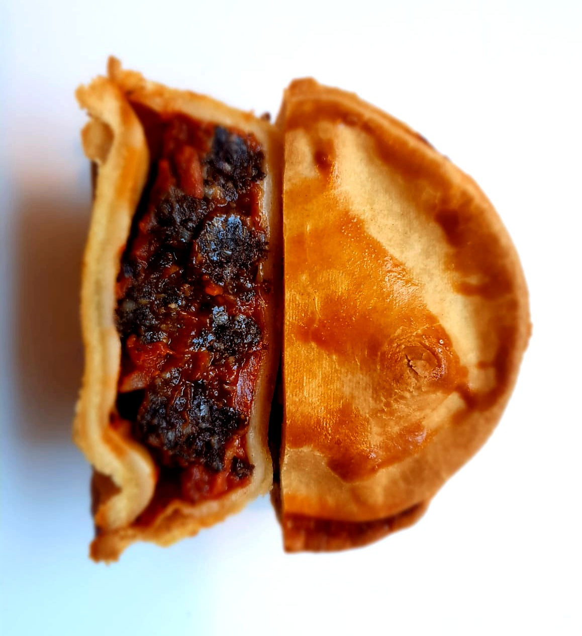 Black Pudding Tomato & Chorizo Pie