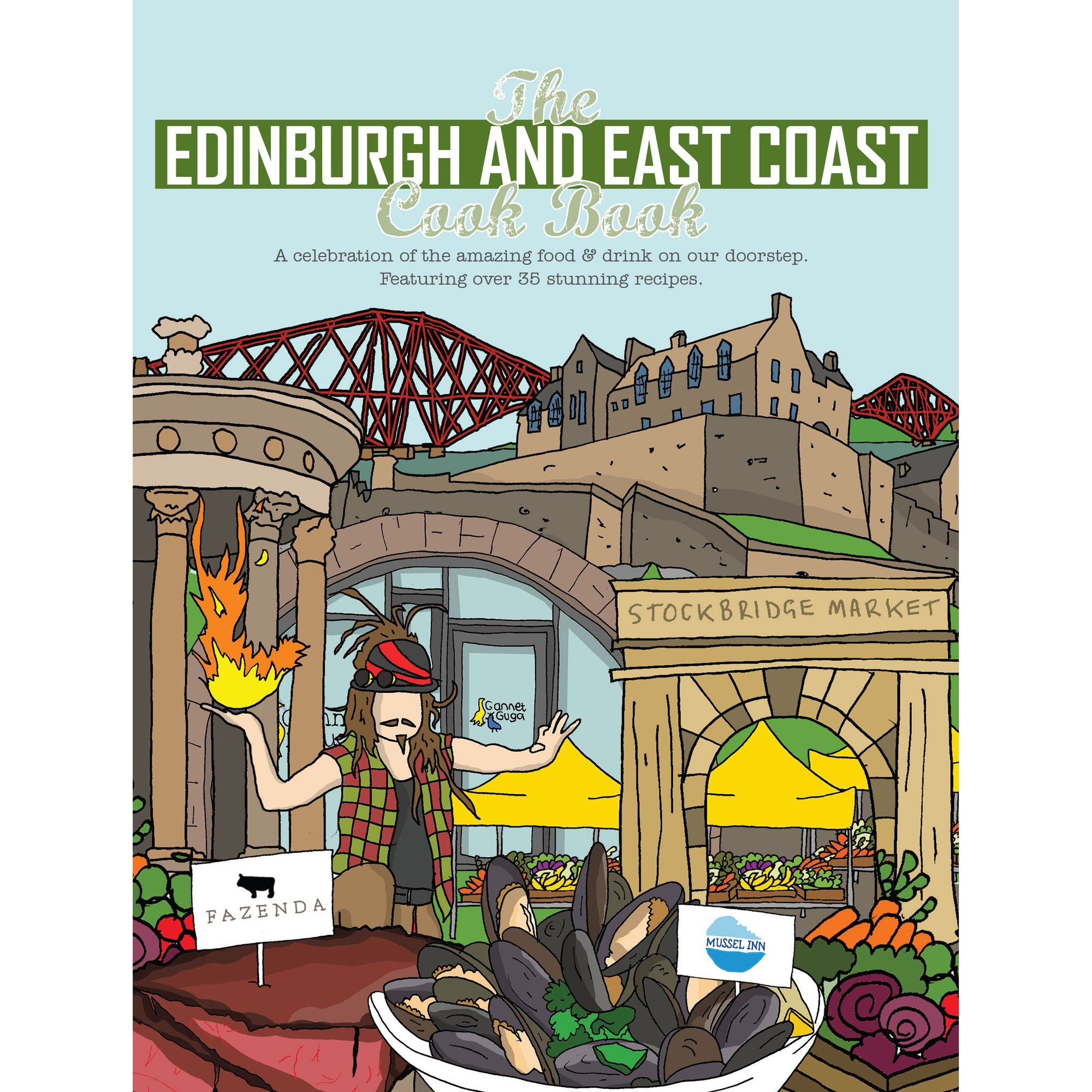 The Edinburgh and East Coast cook book