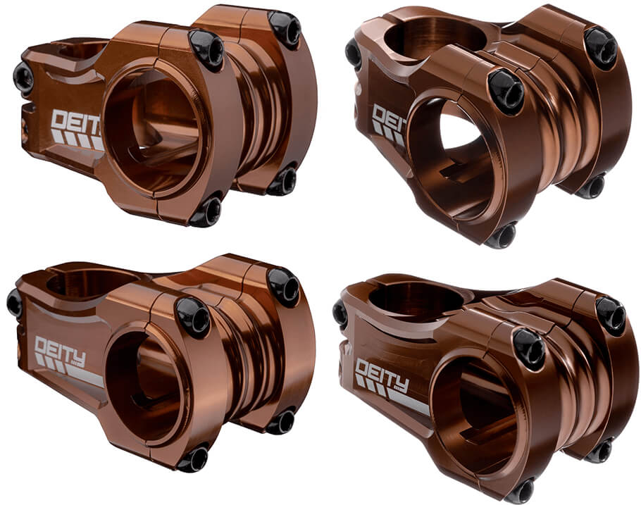 DEITY STEM COPPERHEAD 35 x 35MM