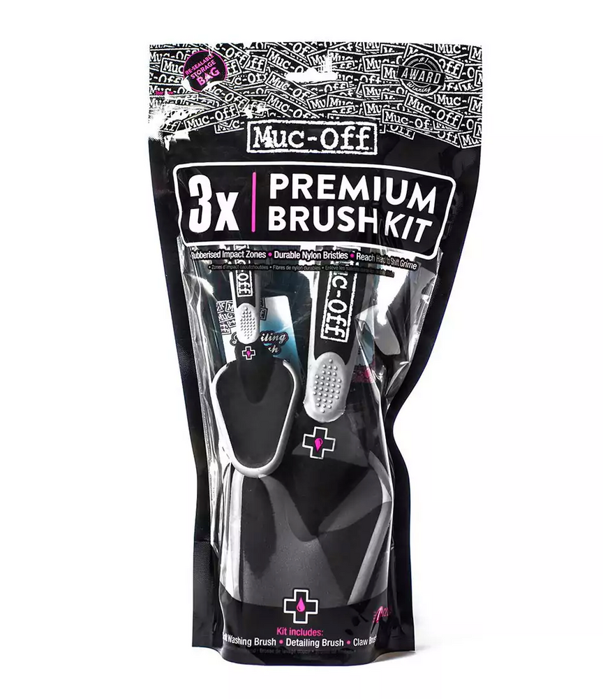 Muc-Off - Premium Brush Kit 3 x