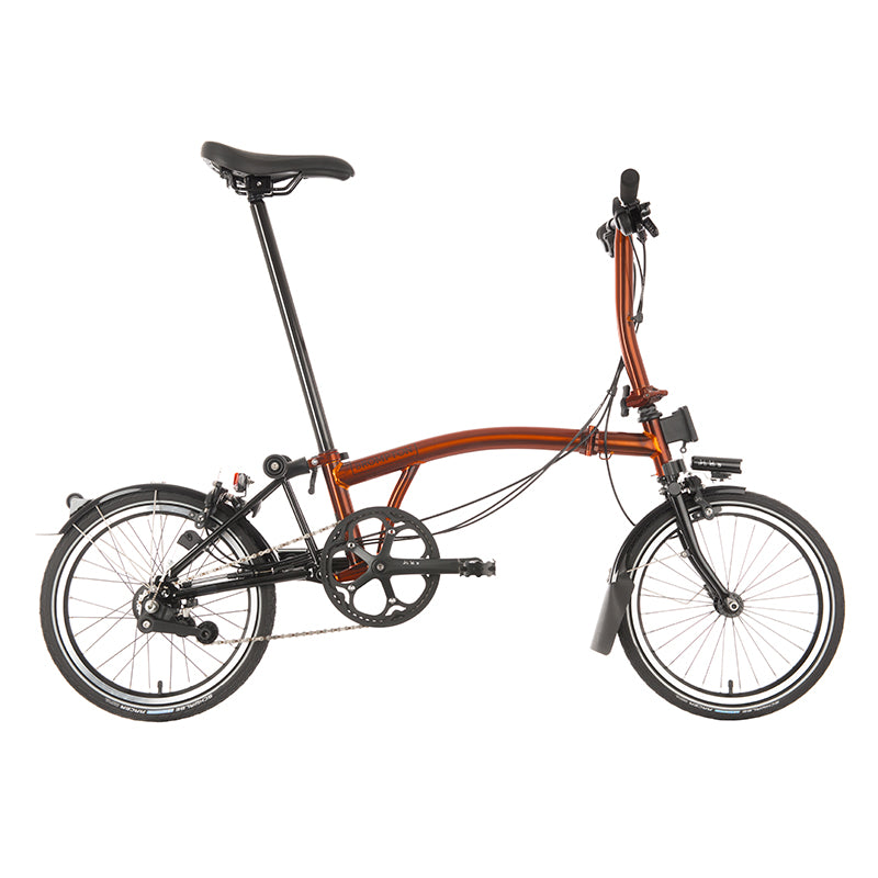 Brompton MY20 Superlight Black Edition S6L Flame Lacquer