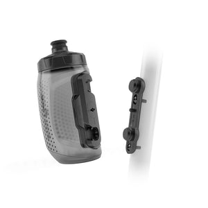 Load image into Gallery viewer, FIDLOCK BOTTLE 450ML WITH BIKE BASE TRANSPARENT BLACK