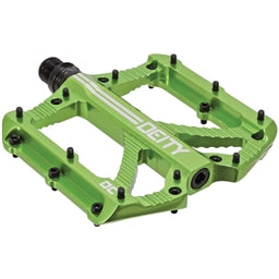 Load image into Gallery viewer, DEITY Bladerunner Pedals Green Ano