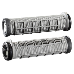ODI Elite Pro Grips - Graphite Black, Lock-On
