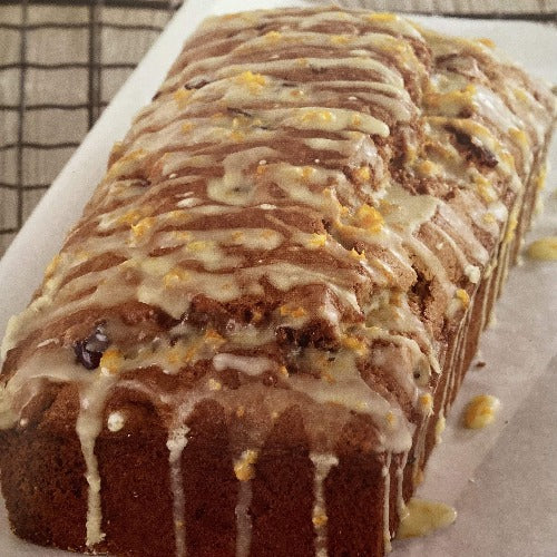 adult Monchic | apple and blueberry loaf