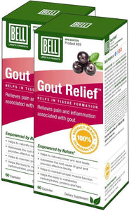 BELL Gout Relief (60 Caps) 2-Pack