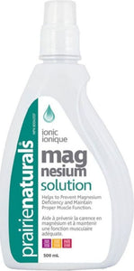 PRAIRIE NATURALS Magnesium Solution (500 ml)