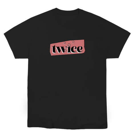 TWICE COLLAGE T-SHIRT